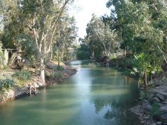 Jordan River Israel. I want to be Baptized in the Jordan River.