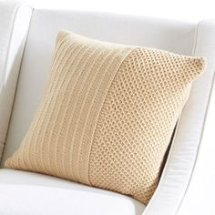 Knitted Cushion Covers, Cushion Cover Pattern, Knitted Cushions, Knitted Throws, Crochet Pillow Patterns Free, Knitting Patterns Free, Free Knitting, Free Pattern, Knit Patterns