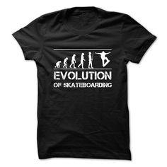 Evolution Of Skateboarding T-Shirt