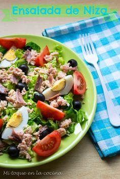 Mi toque en la cocina: Ensalada de Niza