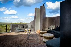 Outdoor Lounge, Outdoor Rooms, Outdoor Decor, Architectural Digest, Safari, Lodge Look, Game Lodge, Park Landscape, Open Plan
