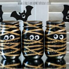 Mason Jar Projects - It All Started With Paint