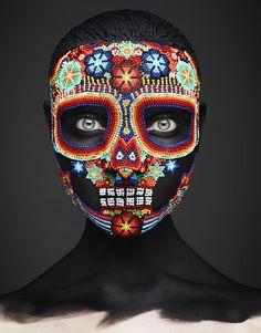 Makeup Mask Photography.