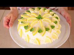 TORTA DELIZIA AL LIMONE di BENEDETTA Ricetta facile - Lemon Roll Cake Easy Recipe - YouTube