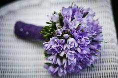 Bouquet - Fleur - Violet - Coloré