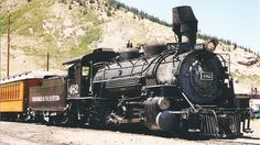 Durango and Silverton 482 Steam Locomotive | by 844steamtrain | This train runs in Colorado.