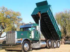 Custom Semi Truck Inventory-rigs,day cabs sale, financing, tandem dump trucks, buy day cab Peterbilt Dump Trucks, Peterbilt 379, Heavy Duty Trucks, Heavy Truck, Custom Big Rigs, Custom Trucks, Cool Trucks, Big Trucks, Dump Trucks For Sale