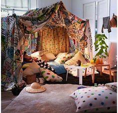 Tented nook