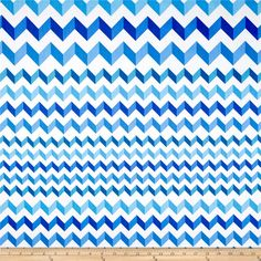 Crinkle Stripe White/Blue from @fabricdotcom  From Andover, this cotton print is perfect for quilting, apparel and home decor accents.  Colors include white and shades of blue.