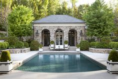 Pool house vision...Howard Design Studio.