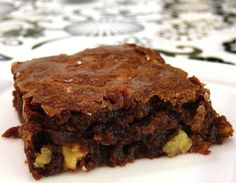 Katherine Hepburn's Brownies from NoblePig.com. Perfect for the Academy Awards!