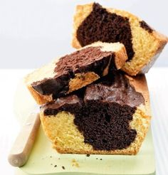 Recette de cake marbré au chocolat