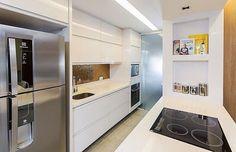 Cozinha branca by Carolina Kirst