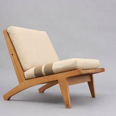 Loungechair Getama GE375, Hans J. Wegner  http://www.velvet-point.de/index.php?feature=objekte
