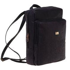 Kork Rucksack «Black» von Montado – Veganer Rucksack online kaufen Bags, Fashion, Black Backpack, Vegans, Fashion Women, Leather, Handbags, Moda, Fashion Styles