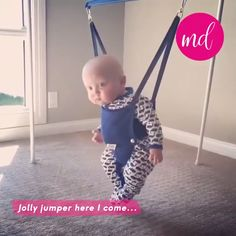 Jolly jumper here I come! By:@kimberlygibas