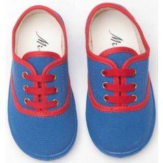 Blauwe sneakers - Mina