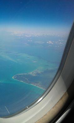 Just over Cuba