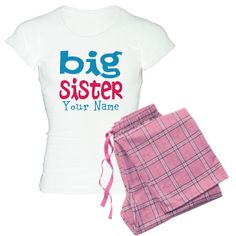 Personalized Big Sister Women's Light Pajamas