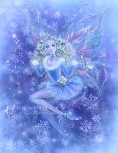 Fantasy art depicting fairies and elves by Mitzi Sato-Wiuff.