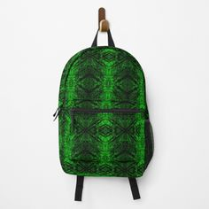 Green Pattern, Emerald Green, Different Styles, Clutches, Shells, Backpacks, Abstract, Printed, Chic