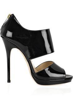 欧美风格 优雅简约黑色凉鞋 高跟鞋 JC-009-淘宝网