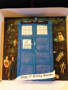 TARDIS cake. I mean, my birthday is in 2 days.. Just sayin' ;)