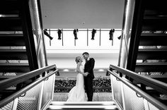 I DO I All lights on Kevin and Allison. Photo: Shane Welch Photography #chicagowedding