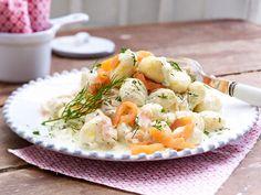 Schnelles Mittagessen - in maximal 30 Minuten fertig! - gnocchi-raeucherlachssosse  Rezept