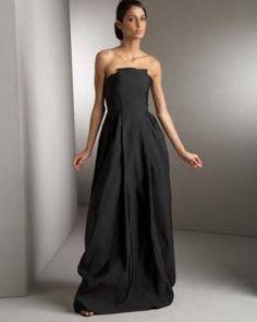 black wedding dresses photos