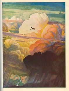 N.C. Wyeth: The Air Mail