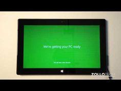 Microsoft Surface First Setup