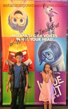 My kids turned #InsideOut for #WW #Disney #DisneySide