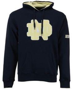 Colosseum Men's Notre Dame Fighting Irish Big Logo Hoodie - Blue L