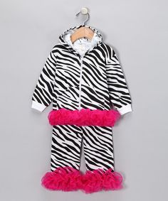 Stripes and ruffles from Sparkle Couture on #zulily today.