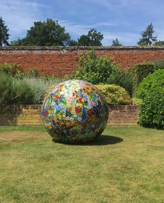 Exhibition at Marks Hall Gardens and Arboretum 2017, Sue Smith Glass