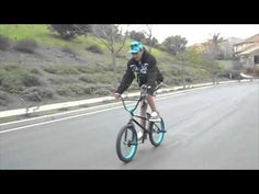 Worlds longest bmx fakie on a cassette hub - YouTube