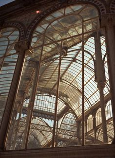 Steampunk Tendencies | Palacio de Cristal - Rai Robledo #Architecture #Victorian #Madrid #Spain
