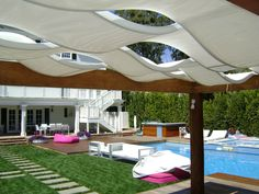 Outstanding Achievement for  free-standing structures less than 112 sq.m: Wave cabana, private home