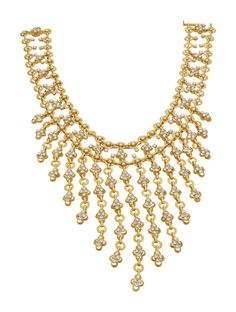 PHILLIPS : NY060114, Van Cleef and Arpels (Co.), A Diamond and Gold Necklace