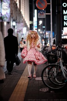 The Sweetest Lolita Fashion- street