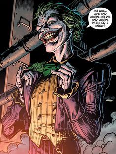Joker  One of the most iconic villains in the comic book world to ever be created.
