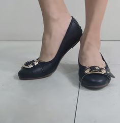 Ballerina donna elasticizzata nera vera pelle con cuscinetto soffice Made in Italy Ballerina, Character Shoes, Heeled Mules, Dance Shoes, Heels, Fashion, Dancing Shoes, Heel, Moda