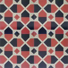 TILE    |    Bordeaux C10-4-42 - moroccan cement tile