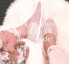 Anything is possible with sparkle and a little PINK!!