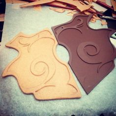 Covering Armor Parts with Worbla