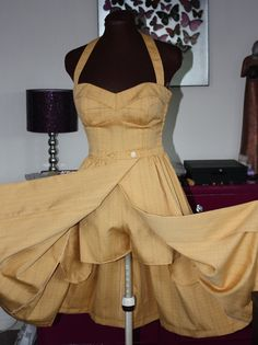 1950s repro playsuit and skirt set by BlameItOnTheBeehive on Etsy, £150.00