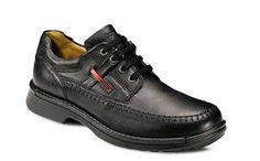 Ecco Fusion Moc Toe Tie in Black #Ecco #shoes