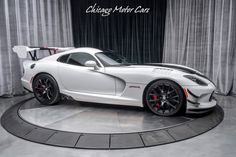 Chicago Motor Cars - Are You Interested? 2016 Dodge Viper, Viper Acr, Motor Car, Mopar, Super Cars, Classic Cars, Chicago, Muscle Cars, Transportation