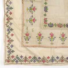 Lot of three Embroidered Covers by Crimean Tatar. (item #1189472, detailed views)